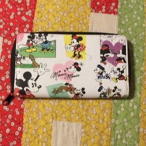 Disney Mickey and Minnie Mouse Wallet